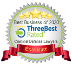 Best business of 2020, Three best rated criminal defense lawyers